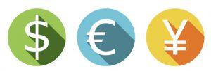 利用可能法定通貨BXONE
