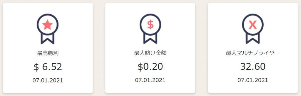$3スピンクレジットの結果