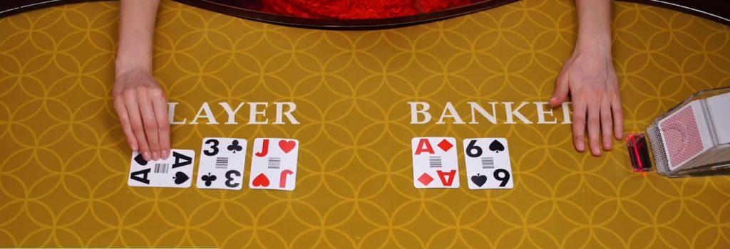 プレイヤー3,バンカー7