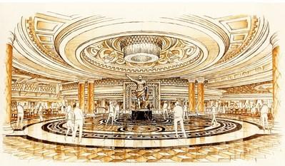Caesars Palace ロビー完成予想図