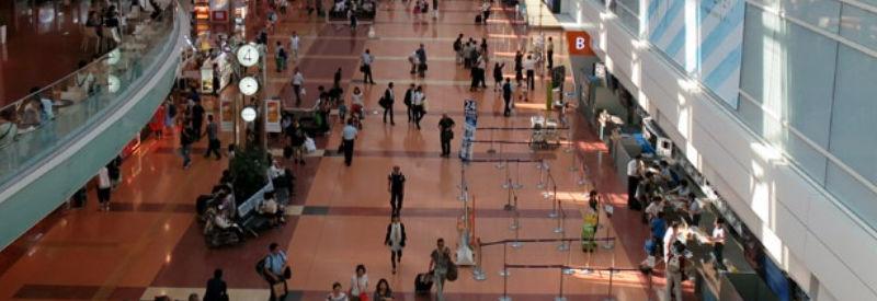 空港ー東京