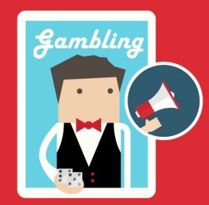 ギャンブル関連の広告