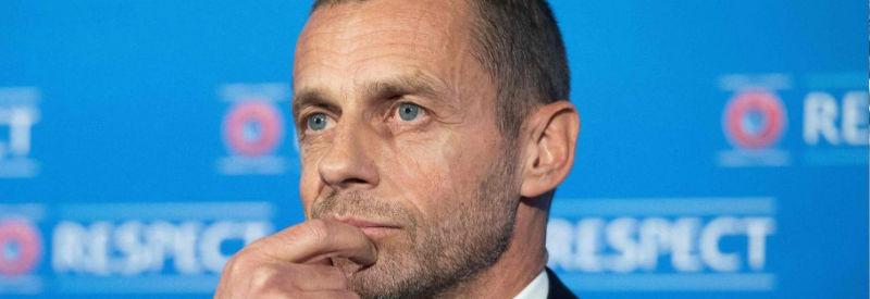 UEFAのチェフェリン会長