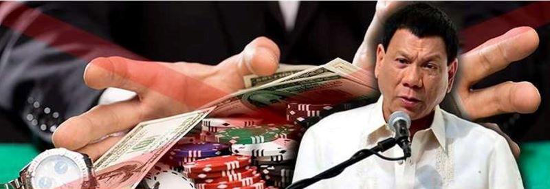 ドゥテルテ大統領カジノ営業を解禁