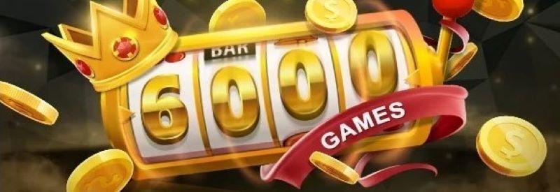 ビデオスロッツのゲーム6000本達成